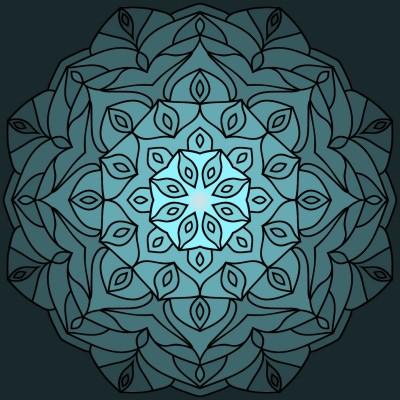 Mandala | iamth3joker | Digital Drawing | PENUP
