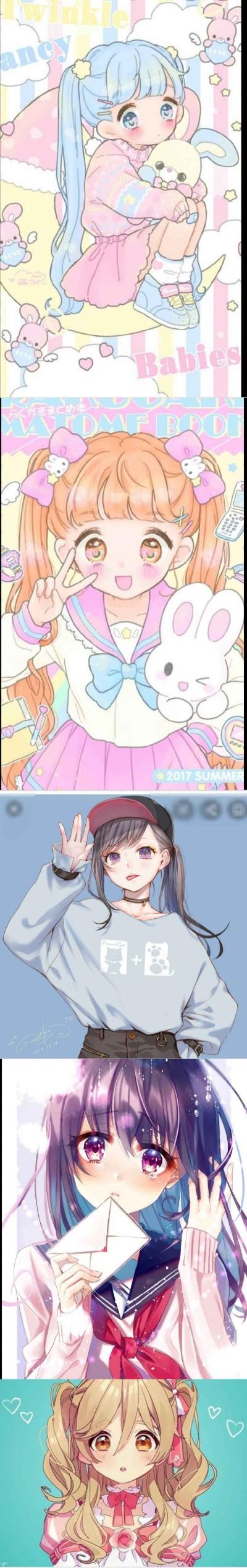 프사 골라줘엉 2번   yui_0828   Digital Drawing   PENUP