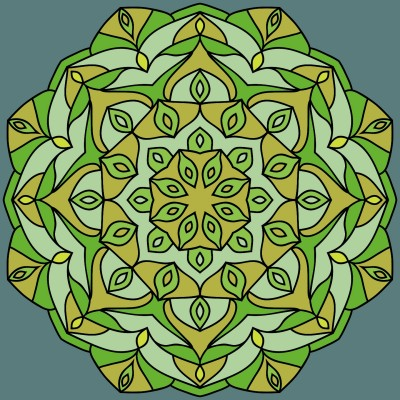 mandala | dena | Digital Drawing | PENUP
