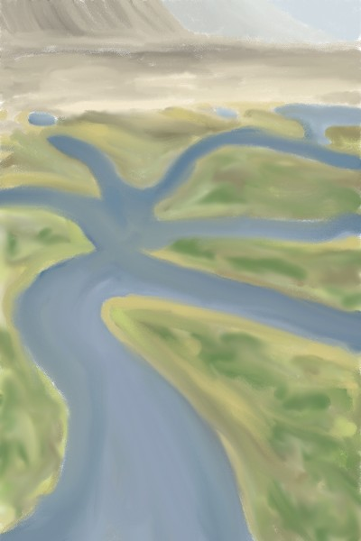 Landscape Digital Drawing | BrattyCat | PENUP