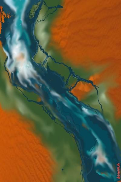 Gihon River... | ArtNstillLife | Digital Drawing | PENUP