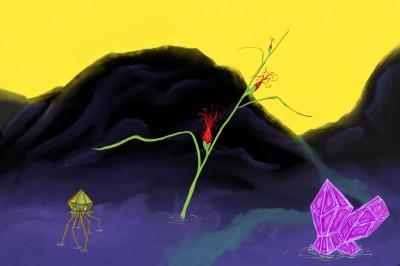A River Among... | hort | Digital Drawing | PENUP