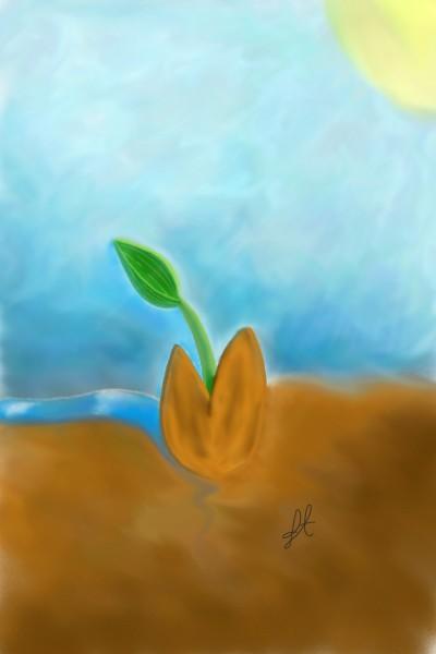 Water Sun Life | Moonlight | Digital Drawing | PENUP
