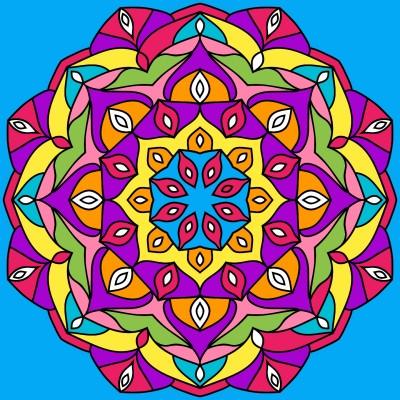 Mandala | Singbird | Digital Drawing | PENUP