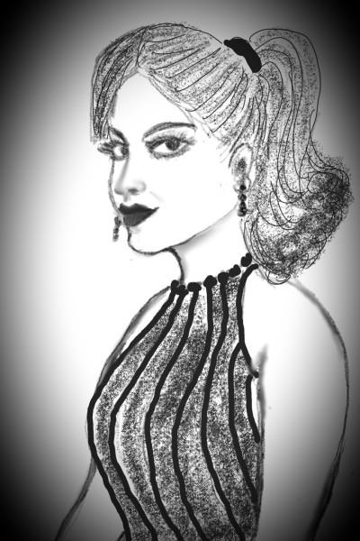 Portrait Digital Drawing | sulakshana | PENUP