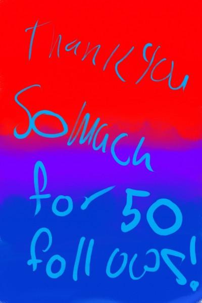 50 follows!!! | Lolforever | Digital Drawing | PENUP