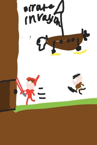 Pirate invasion terraria | Jakin10 | Digital Drawing | PENUP