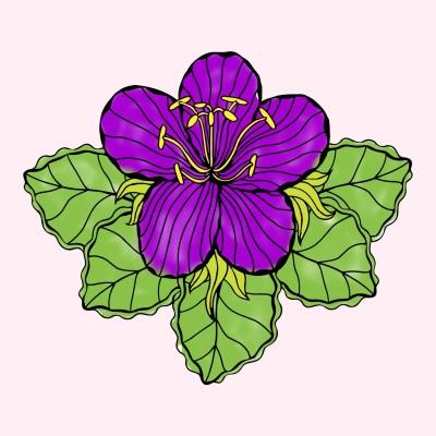Coloring Digital Drawing | alka | PENUP