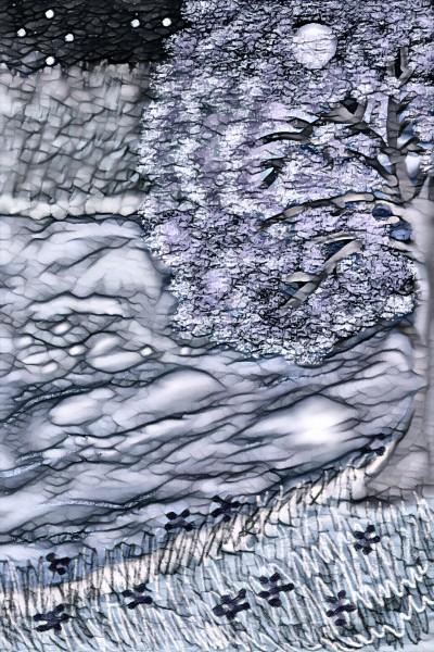 River in night   sulakshana   Digital Drawing   PENUP