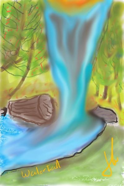 Water falls  | luism666 | Digital Drawing | PENUP