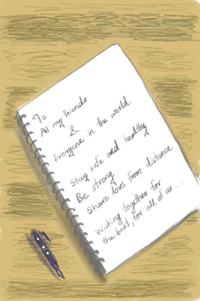 A Wish | ANK | Digital Drawing | PENUP