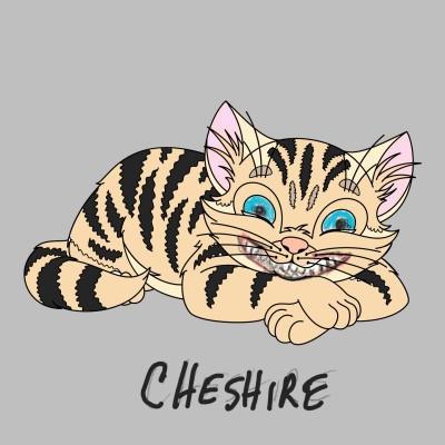 Cheshire Cat | penshark | Digital Drawing | PENUP
