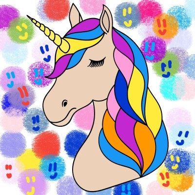 unicorn! ( so cute) by: Rub y | deep-flow | Digital Drawing | PENUP