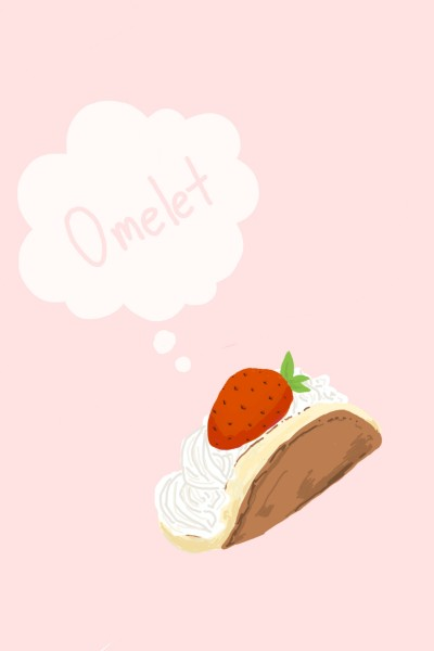 strawberry omelet | yangchi | Digital Drawing | PENUP