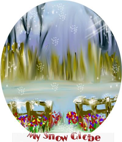 My Snow Globe | katherineeroach | Digital Drawing | PENUP