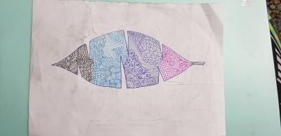 doodle leafe | Idea | Digital Drawing | PENUP