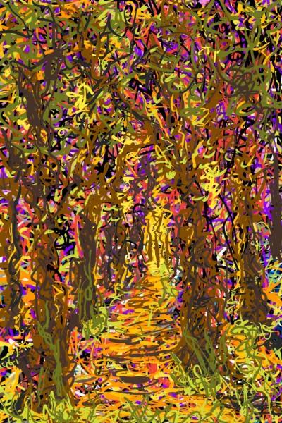 A forest of colors | AntoineKhanji | Digital Drawing | PENUP