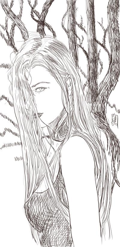 Character Digital Drawing | jericojhones | PENUP
