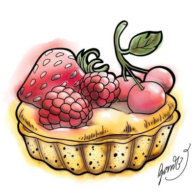 ขนมอบน่ากิน | NuKrit | Digital Drawing | PENUP