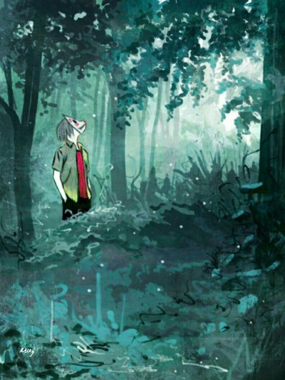 Into the Forest of Fireflies' Light   Miky   Digital Drawing   PENUP