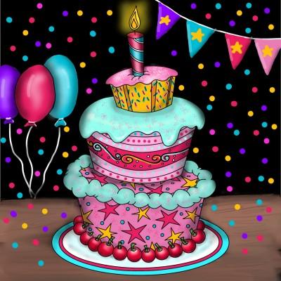 Celebrate!  | Stace | Digital Drawing | PENUP