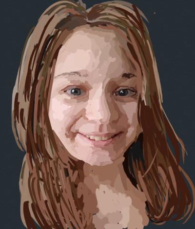 лицо | lim_man29 | Digital Drawing | PENUP