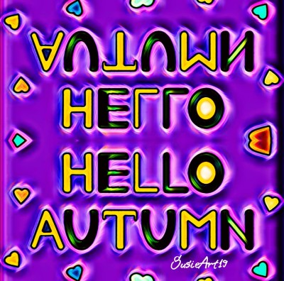 Hello Autumn Poster | SusieBrooklyn | Digital Drawing | PENUP