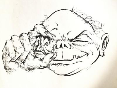 #inktober2019  | Grafixguru | Digital Drawing | PENUP