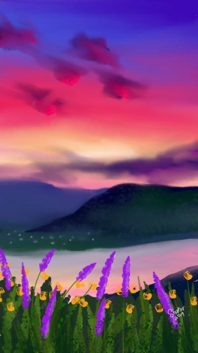 dawn | shahir | Digital Drawing | PENUP