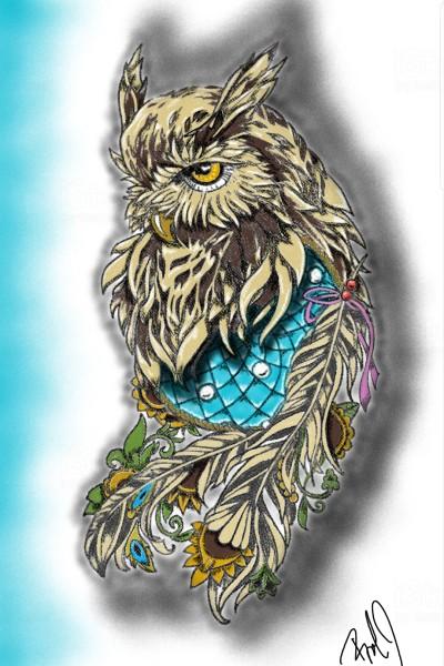 owl   nyyankeehitman   Digital Drawing   PENUP