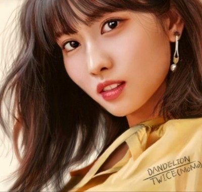 TWICE (MoMo) (Hand-drawing) | -DANDELION- | Digital Drawing | PENUP