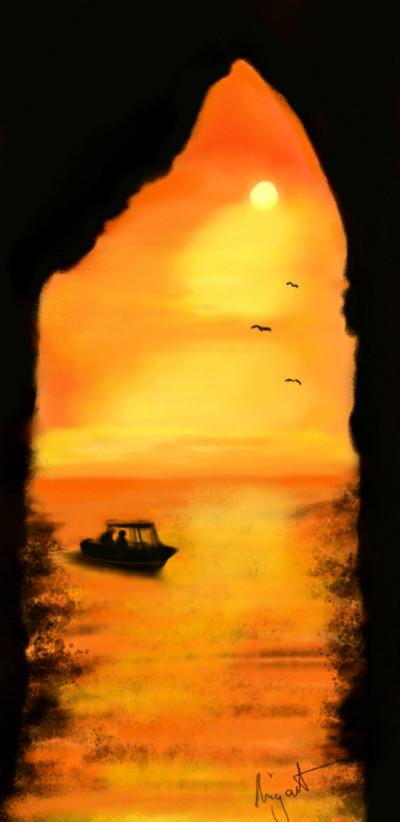Mediterran... https://youtu.be/aoeXRvr9VHg | Nigart | Digital Drawing | PENUP