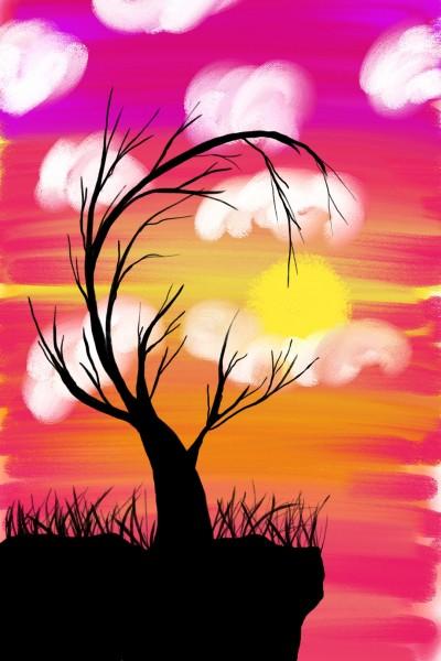 Sunn Set.  | Doodlebug | Digital Drawing | PENUP