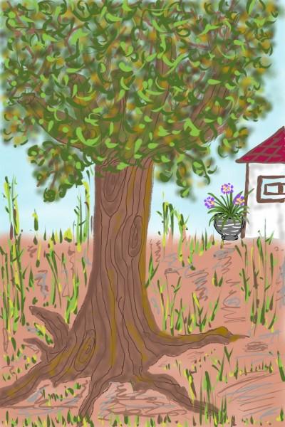 Landscape Digital Drawing   Elvira   PENUP