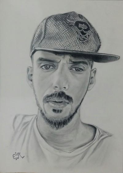 Portrait Digital Drawing | DiNa | PENUP