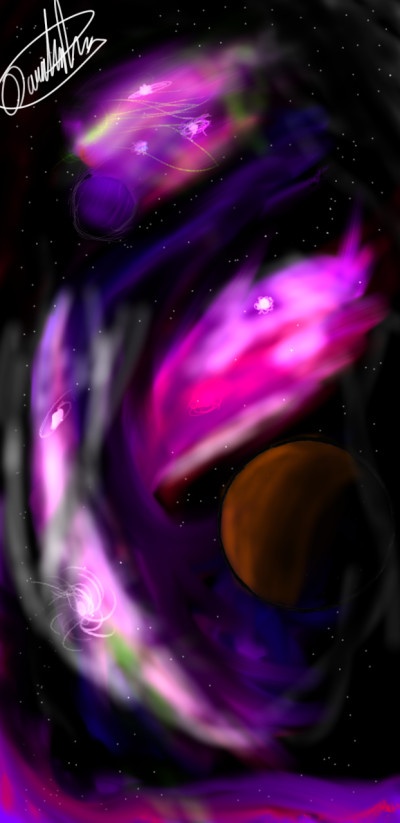 God's Nebulas | Hipstachio | Digital Drawing | PENUP
