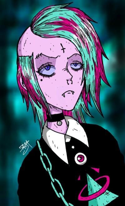 Gothic Punk Element | Kimihiro133sm | Digital Drawing | PENUP