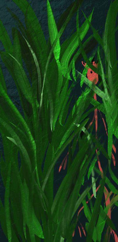 Creature in the grass  | jjbinksljg2 | Digital Drawing | PENUP
