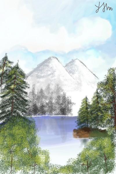 scenery | Ayk | Digital Drawing | PENUP