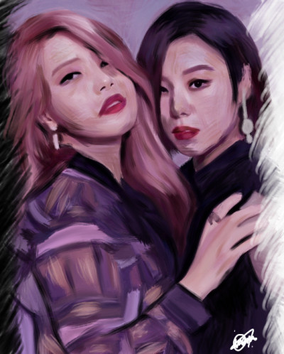 Solar❤️Wheein | IREM.Aksoy | Digital Drawing | PENUP