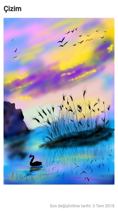 Landscape Digital Drawing | Ozkan | PENUP