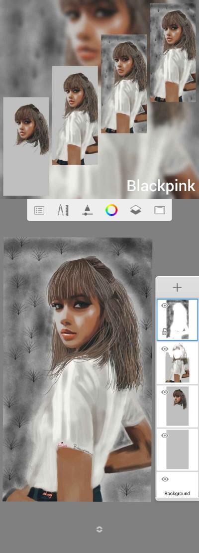 BLACKPINK | xxx | Digital Drawing | PENUP