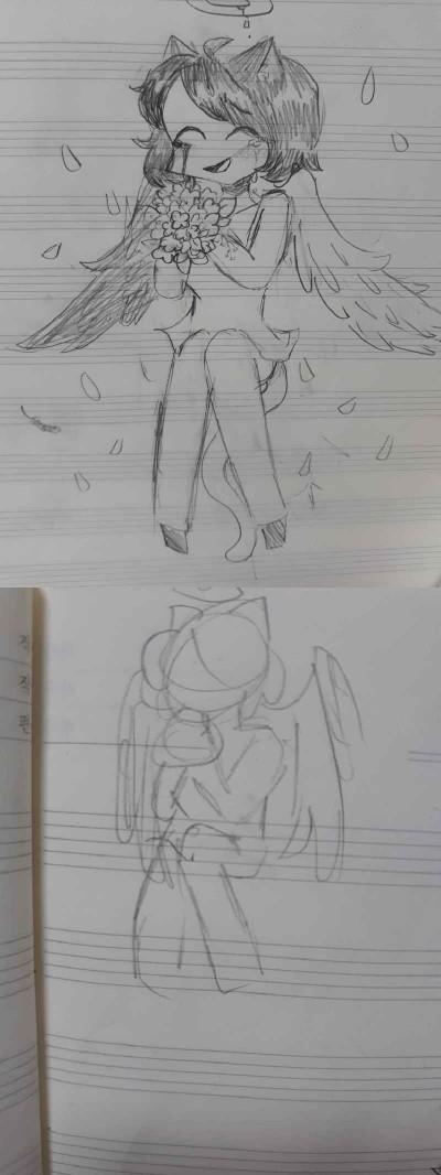 음양이~♡ | Eum-Yang | Digital Drawing | PENUP