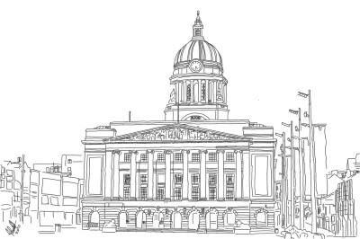 Nottingham Council House | StevenCarroll | Digital Drawing | PENUP