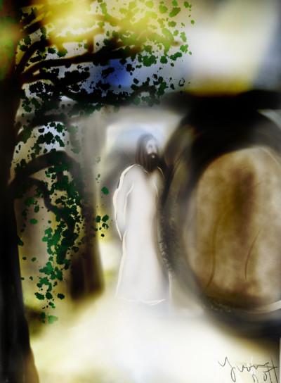 Resurrection    whitehorse   Digital Drawing   PENUP