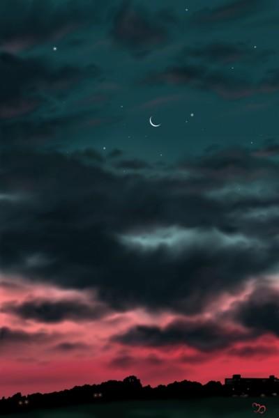 cloudy sky | Sina | Digital Drawing | PENUP