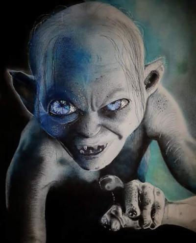 ~Gollum~ | Mert | Digital Drawing | PENUP