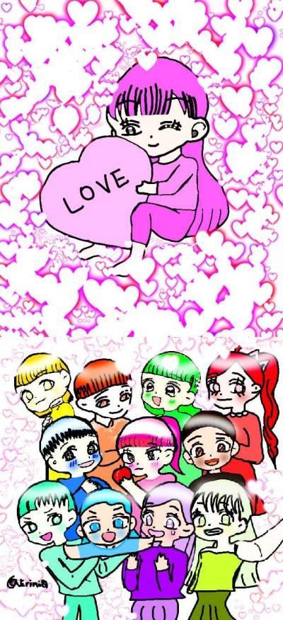 팔로우해주시면 보상이 팡팡!!!☆☆☆☆☆☆   Erinia   Digital Drawing   PENUP