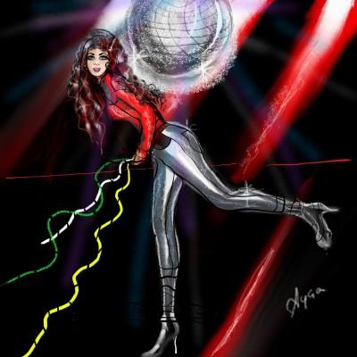 Disco | Ayca | Digital Drawing | PENUP