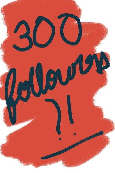 300 followers completed!?  | Shravya | Digital Drawing | PENUP